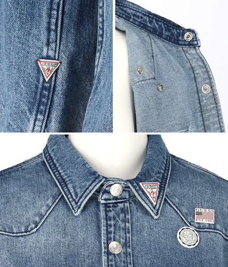 GUESS WEST LS SHIRT | GUESS