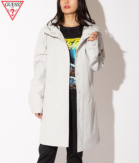 GUESS CONTEMPORARY RAINCOAT