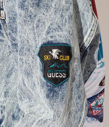 GUESS DILLON DENIM JKT W/ PATCHES(アウター(コート・ジャケット) /ジャケット・ブルゾン) | GUESS