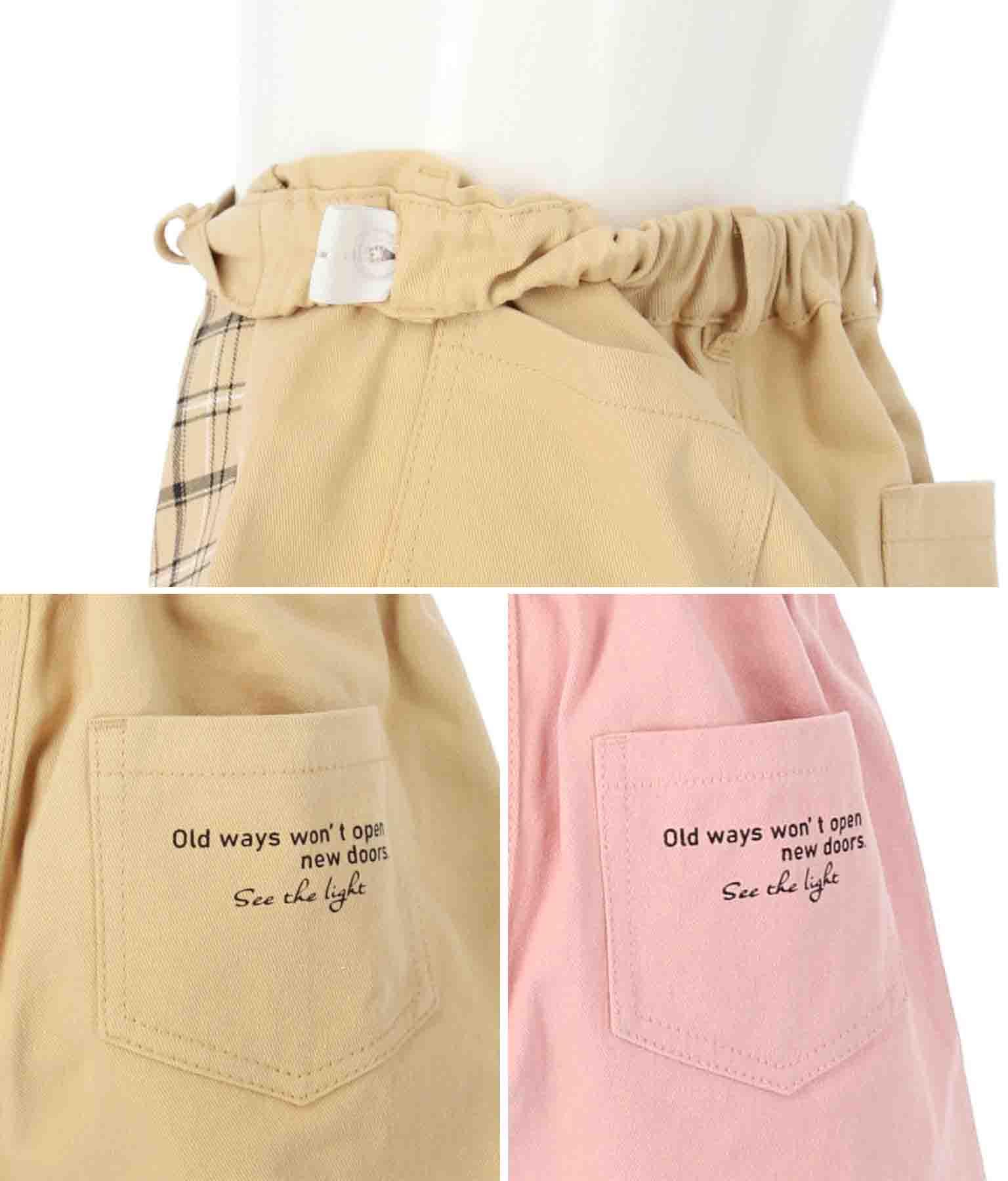 チェック切替スカパン(ボトムス・パンツ /ショートパンツ・スカート) | ANAP KIDS