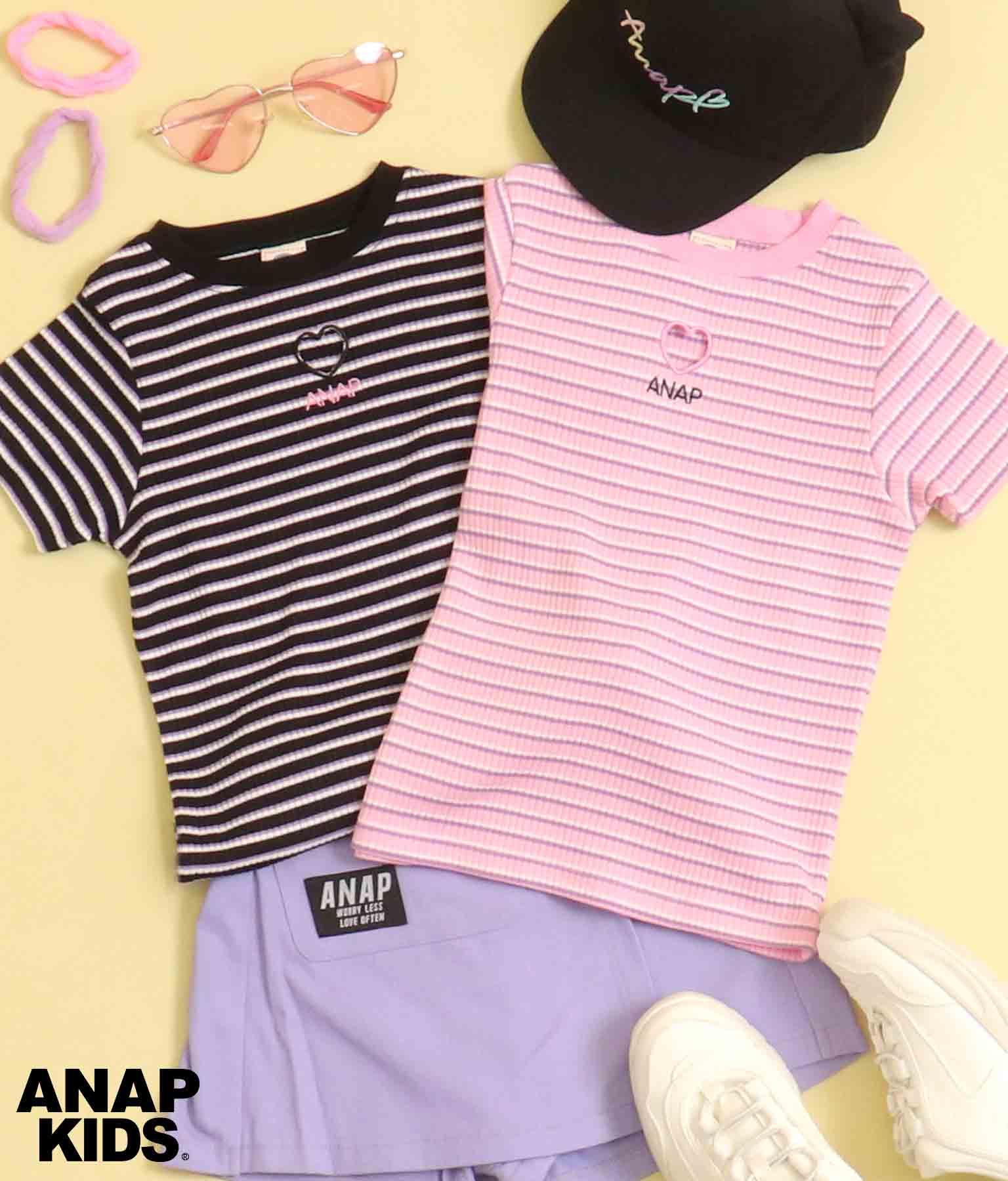 ボーダーテレコトップス | ANAP KIDS