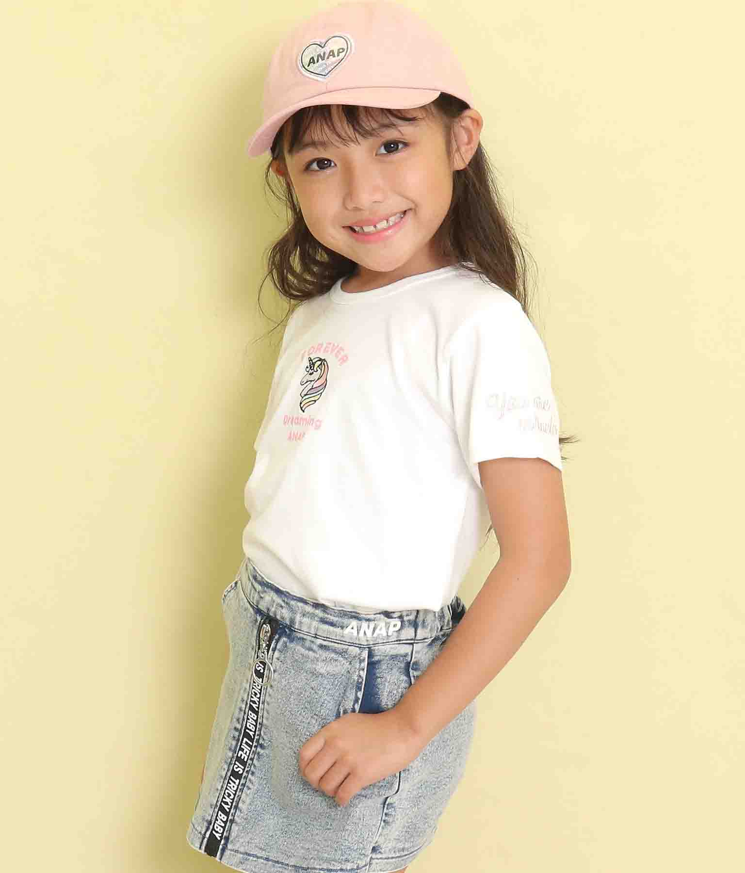 ユニコーン刺繍Tシャツ(トップス/Tシャツ) | ANAP KIDS