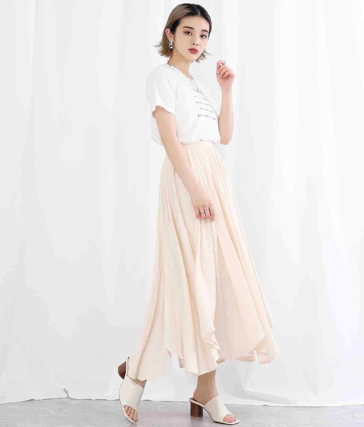 イレギュラーヘムボリュームフレアスカート(ボトムス・パンツ /スカート) | Settimissimo