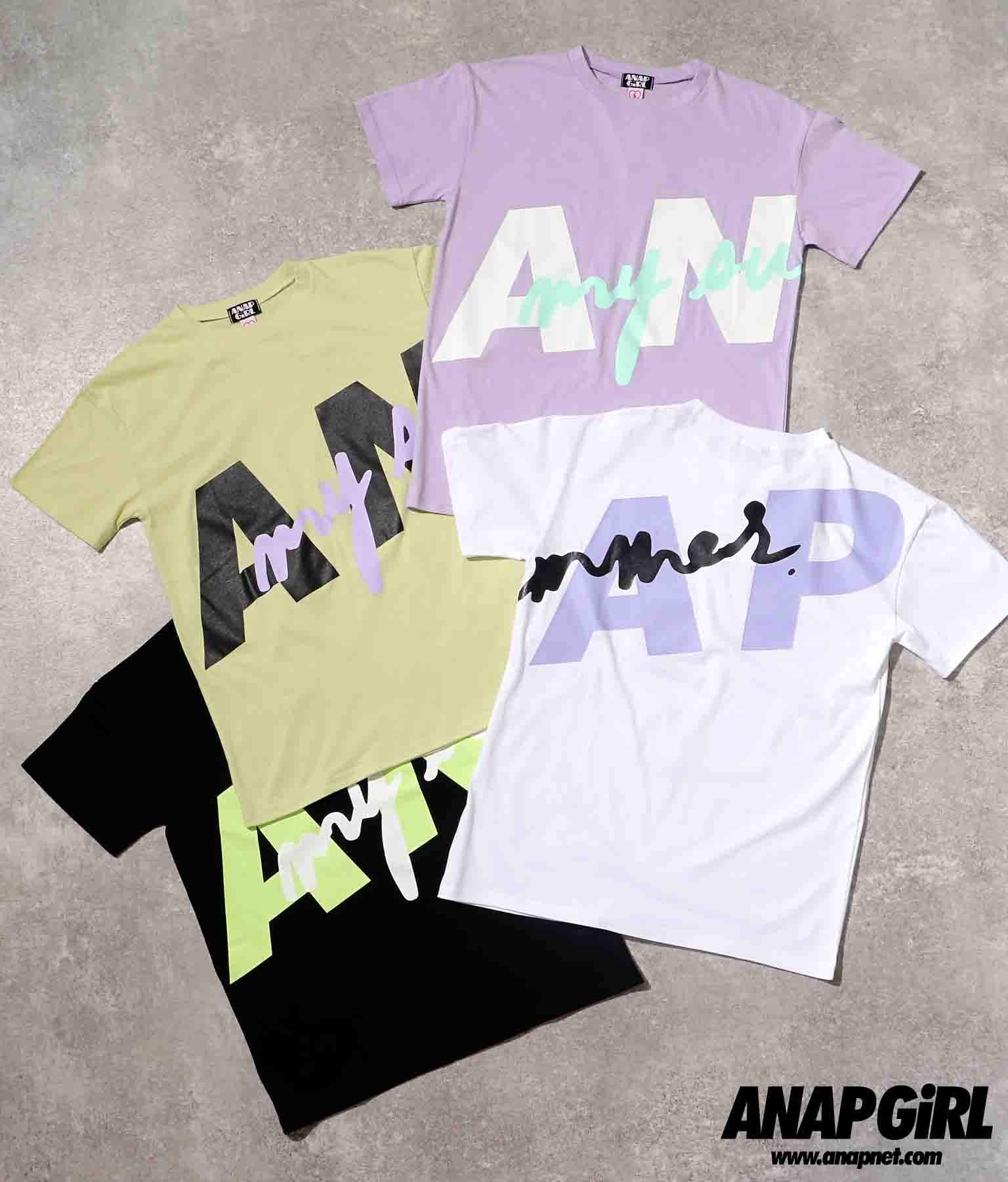 ビッグロゴメッセージTシャツ