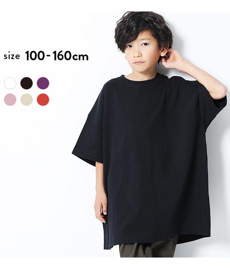 BIGシルエットタックTシャツ
