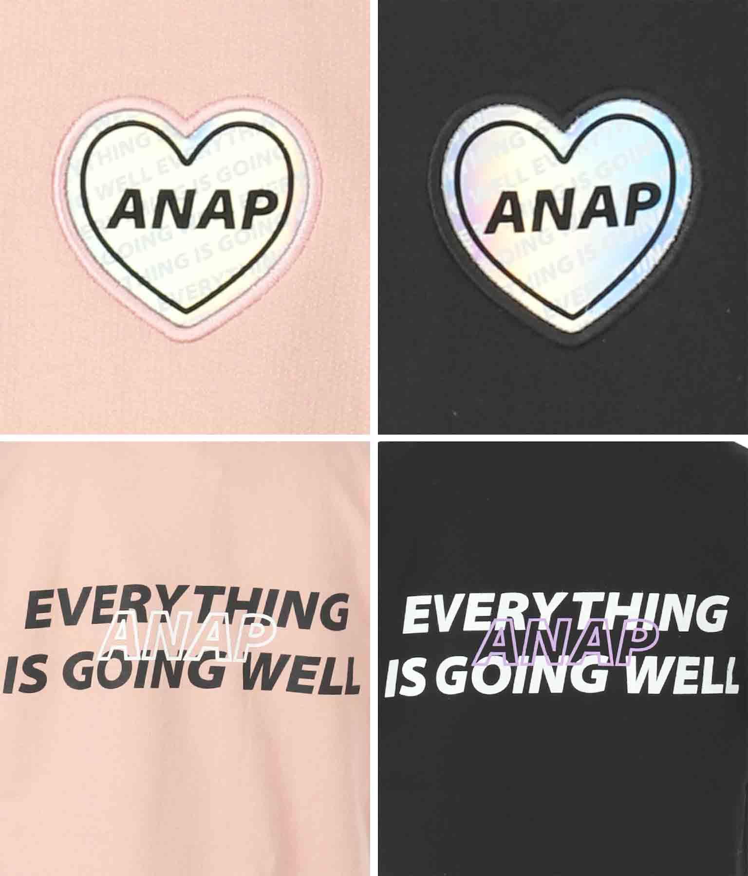 オーロラワッペンプチハイネックトップス(トップス/カットソー ) | ANAP KIDS