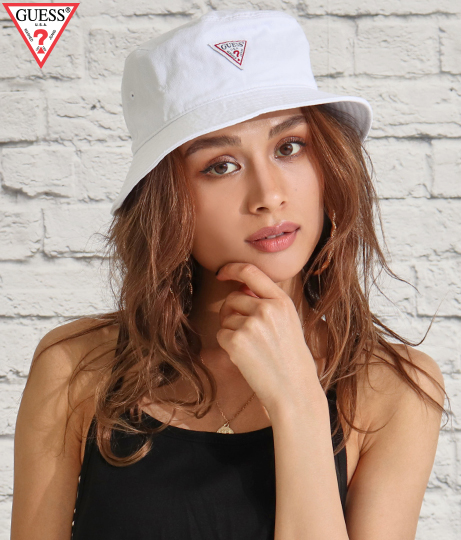GUESS GUESS TWILL BUCKET HAT