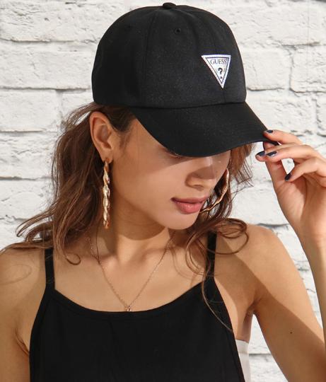 GUESS POLY TWILL BALL CAP W/HOLOGRAM LOGO(ファッション雑貨/ハット・キャップ・ニット帽 ・キャスケット・ベレー帽) | GUESS