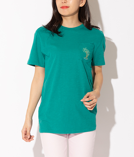 GUESS CN SS POCKET EMBROIDERY TEE | GUESS