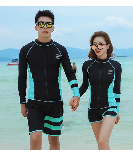HOYUKI メンズ フィットネス水着3点セット(水着/水着セット) | HOYUKI