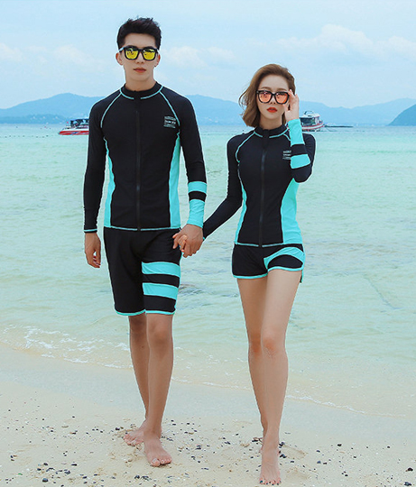 HOYUKI レディース フィットネス水着5点セット(水着/水着セット) | HOYUKI