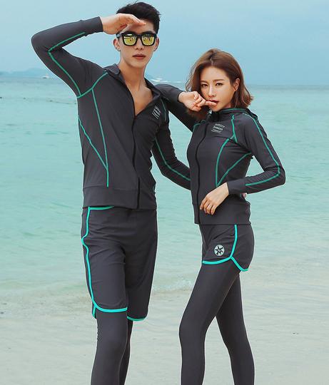 HOYUKI レディース フィットネス水着5点セット(水着/水着・水着セット) | HOYUKI