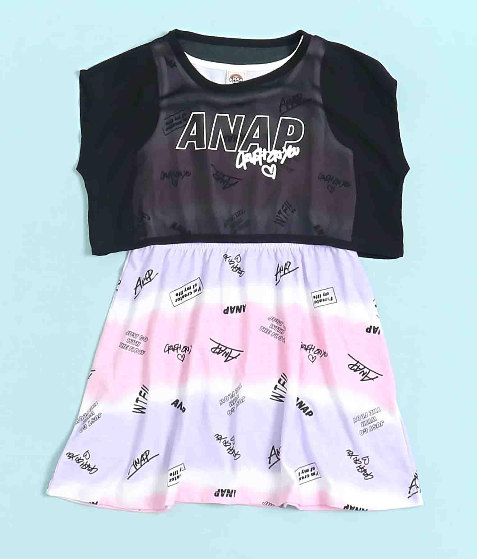 シフォン重ね着ワンピース(ワンピース・ドレス/ミニワンピ) | ANAP KIDS
