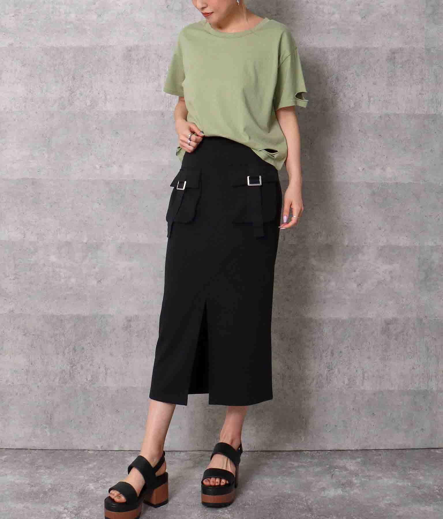 ワークポケットスリットスカート(ボトムス・パンツ /スカート) | ANAP