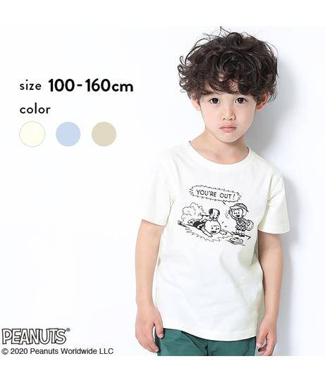PEANUTS 70周年記念スヌーピー柄Tシャツ