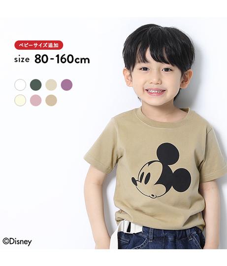 Disney ミッキー柄Tシャツ