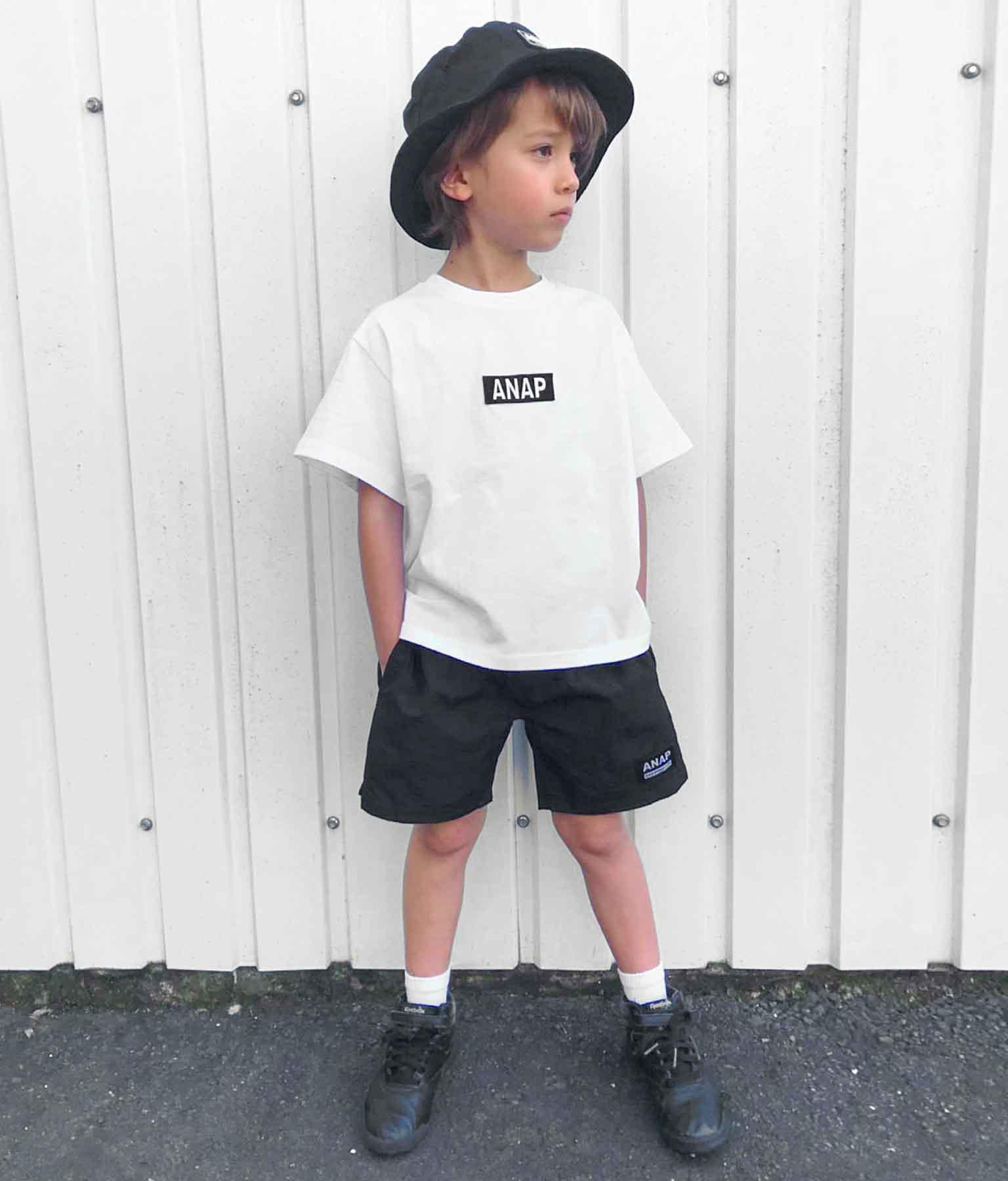 ANAPロゴ刺繍ビッグTシャツ   ANAP KIDS