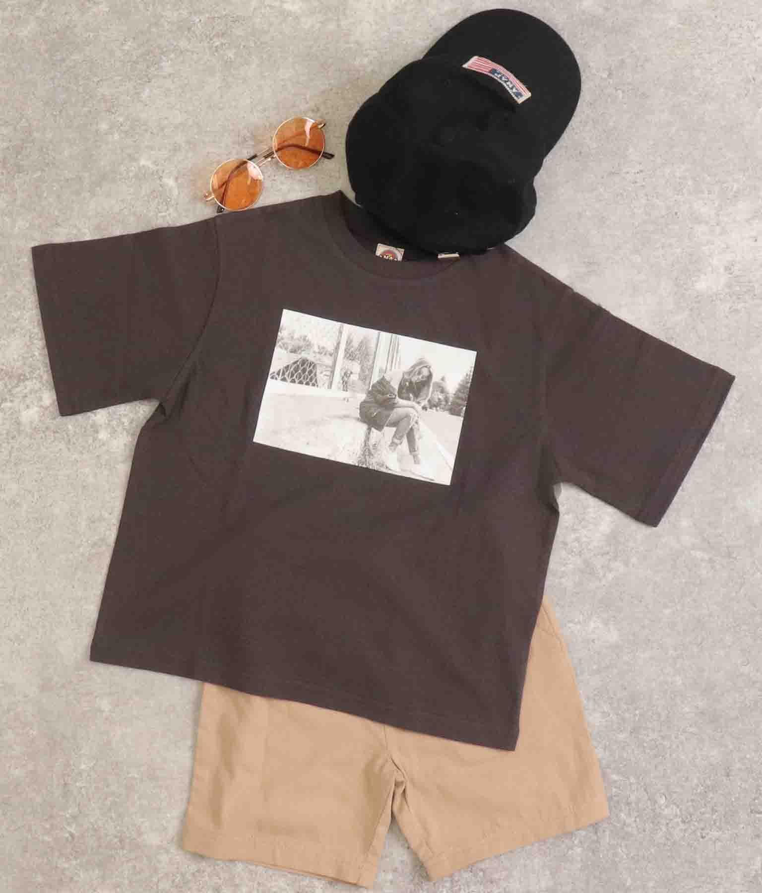 フォト×バックプリントビッグTシャツ | ANAP KIDS
