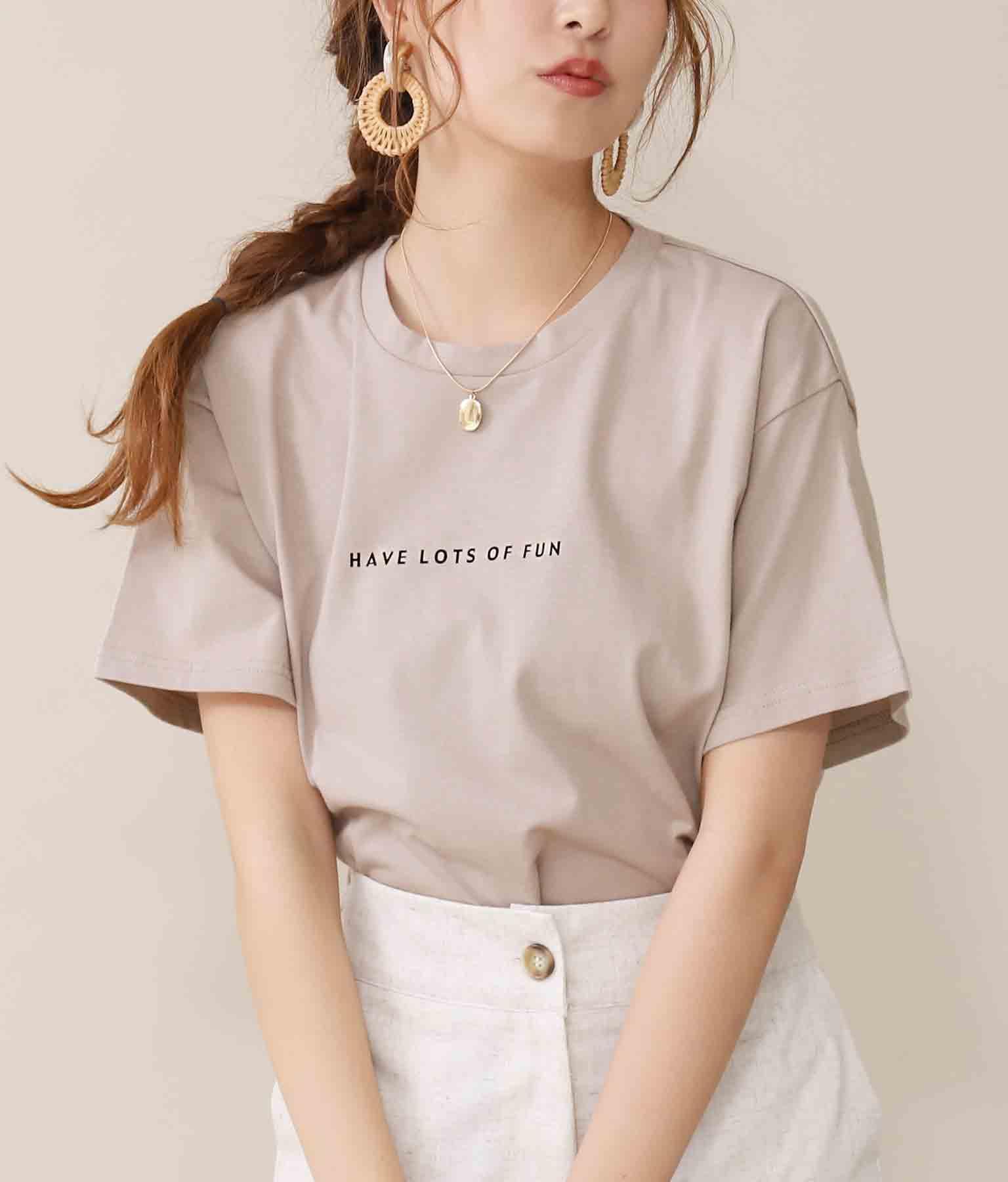 ミニレタリングTシャツ