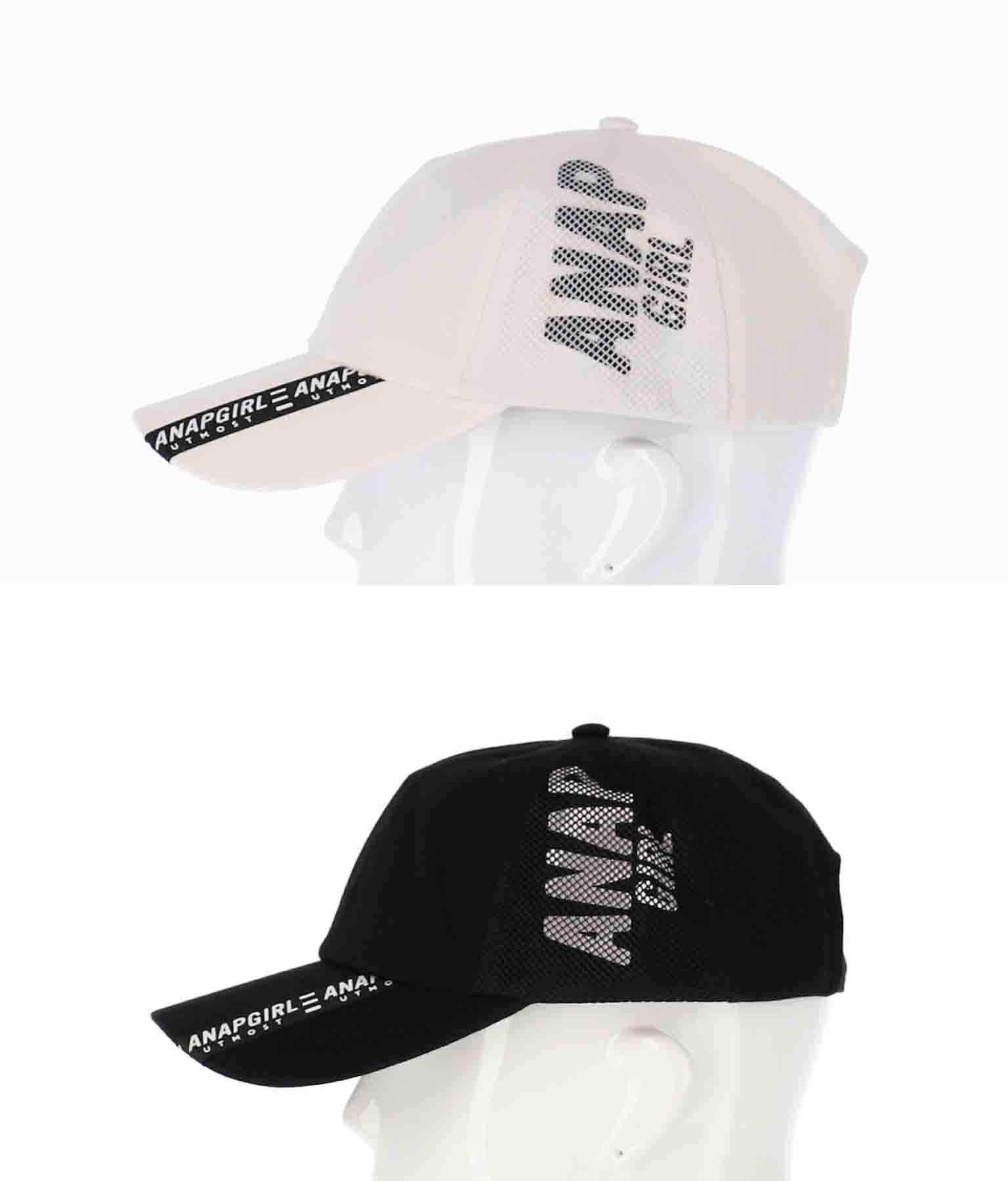 メッシュ切替キャップ(ファッション雑貨/ハット・キャップ・ニット帽 ・キャスケット・ベレー帽) | ANAP GiRL