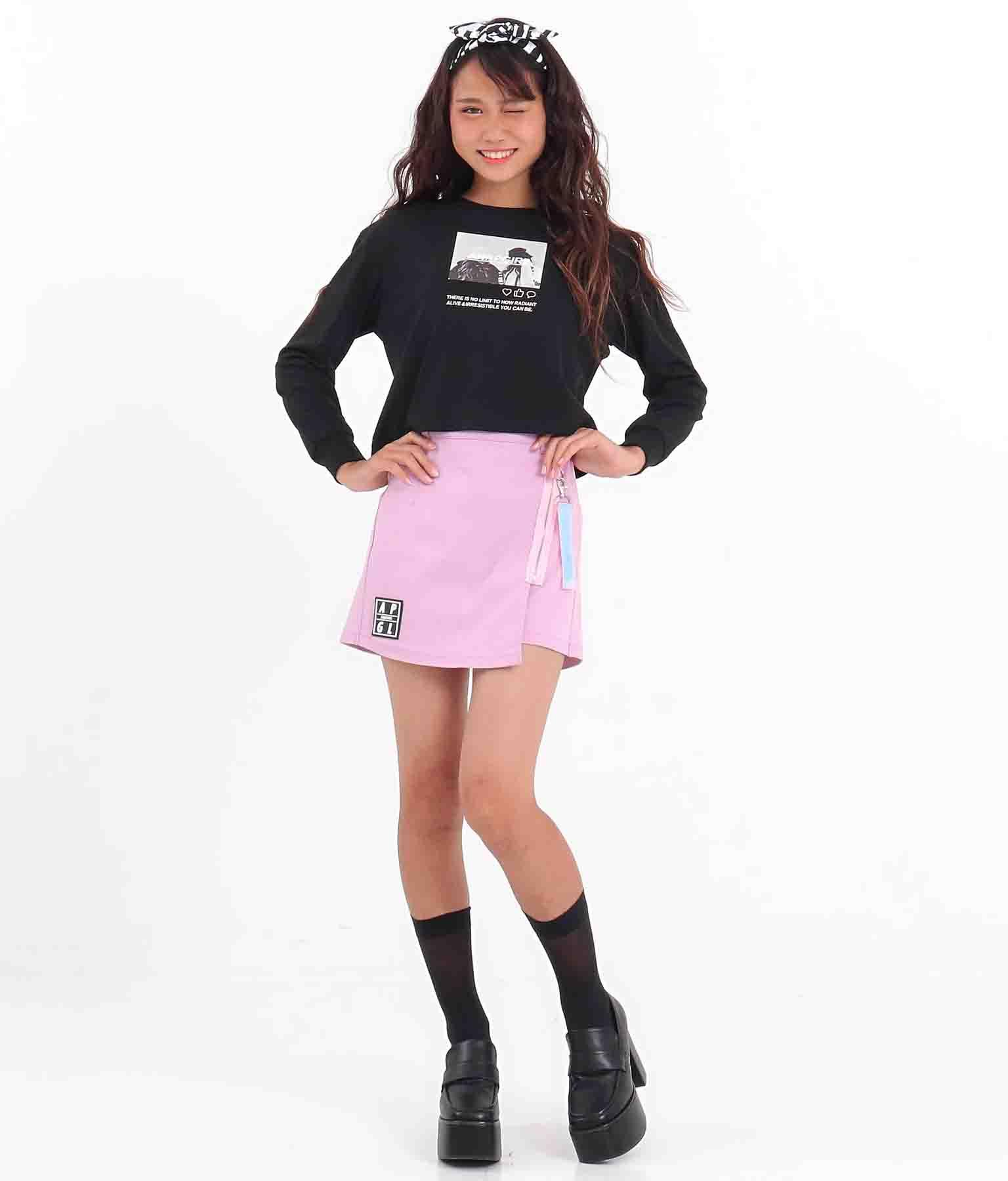 ホログラムテープ付スカパン(ボトムス・パンツ /ショートパンツ・スカート) | ANAP GiRL