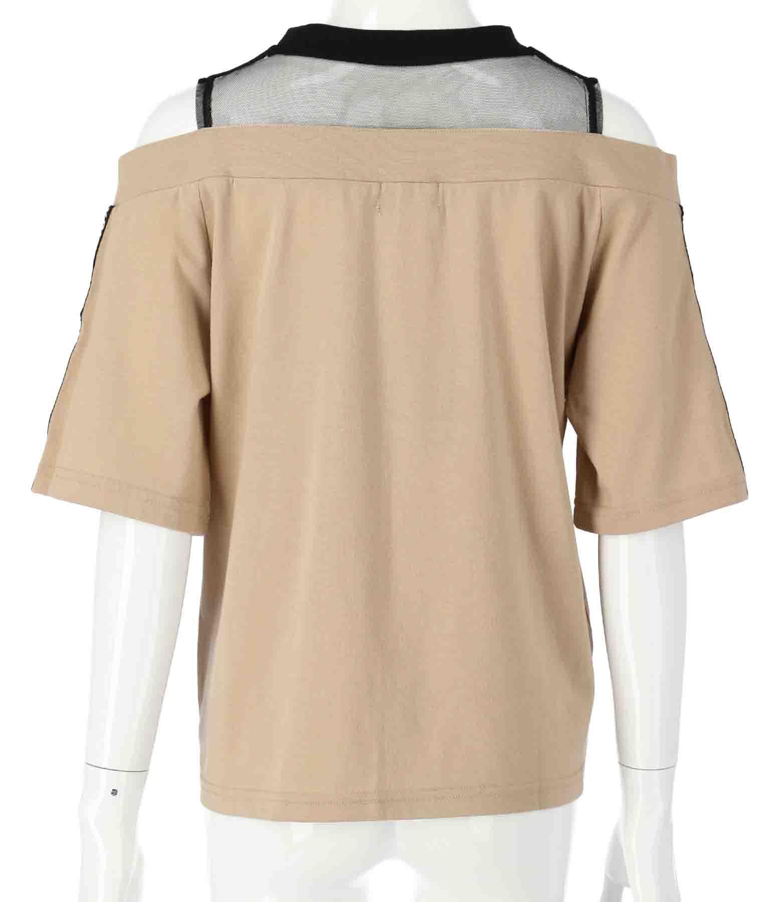 チュール切替肩開きトップス(トップス/Tシャツ) | ANAP GiRL