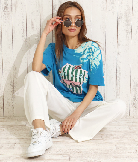 GUESS CN SS OVERPATCHED TEE SHIRT | GUESS