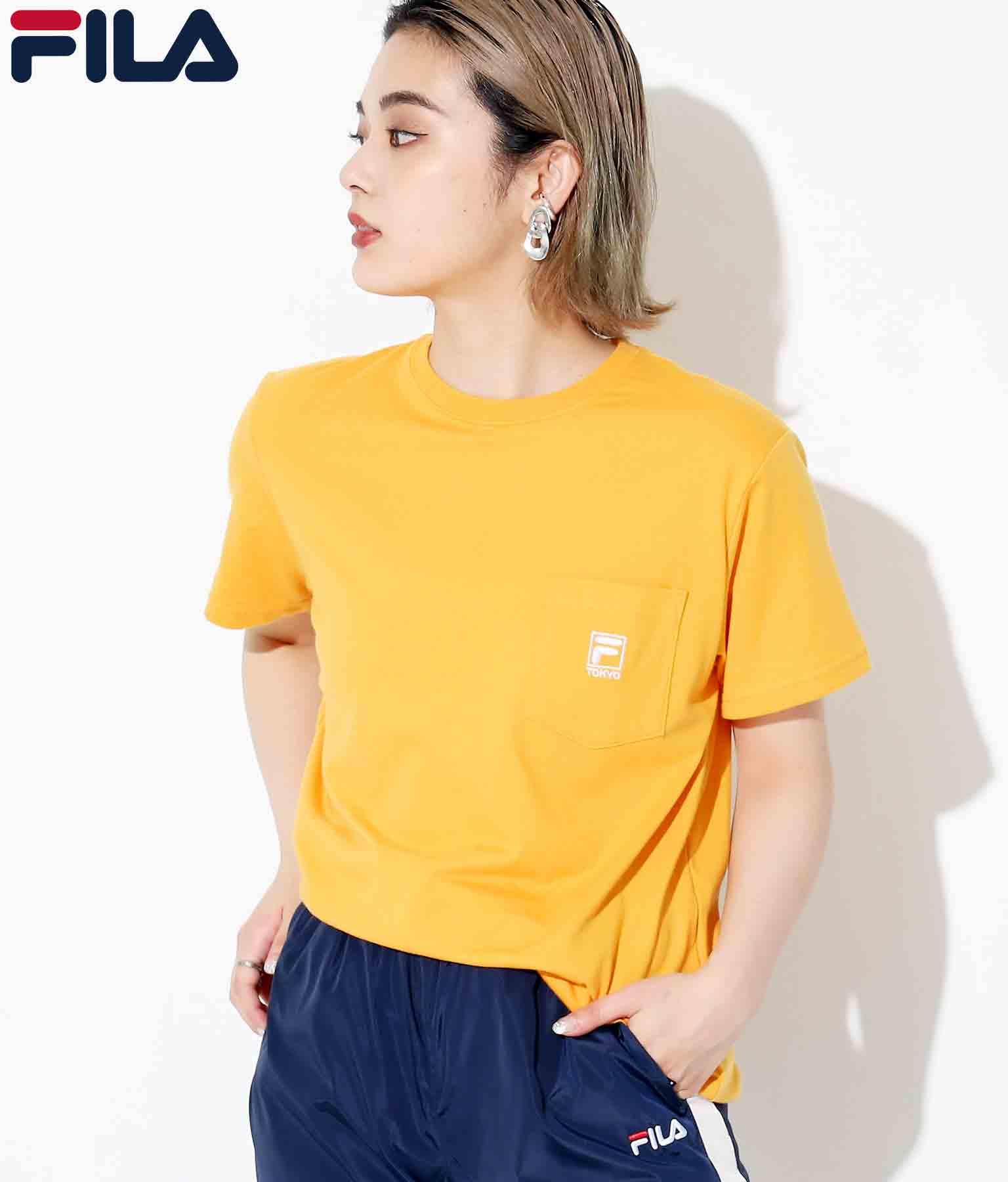 FILA ポケット付きTシャツ