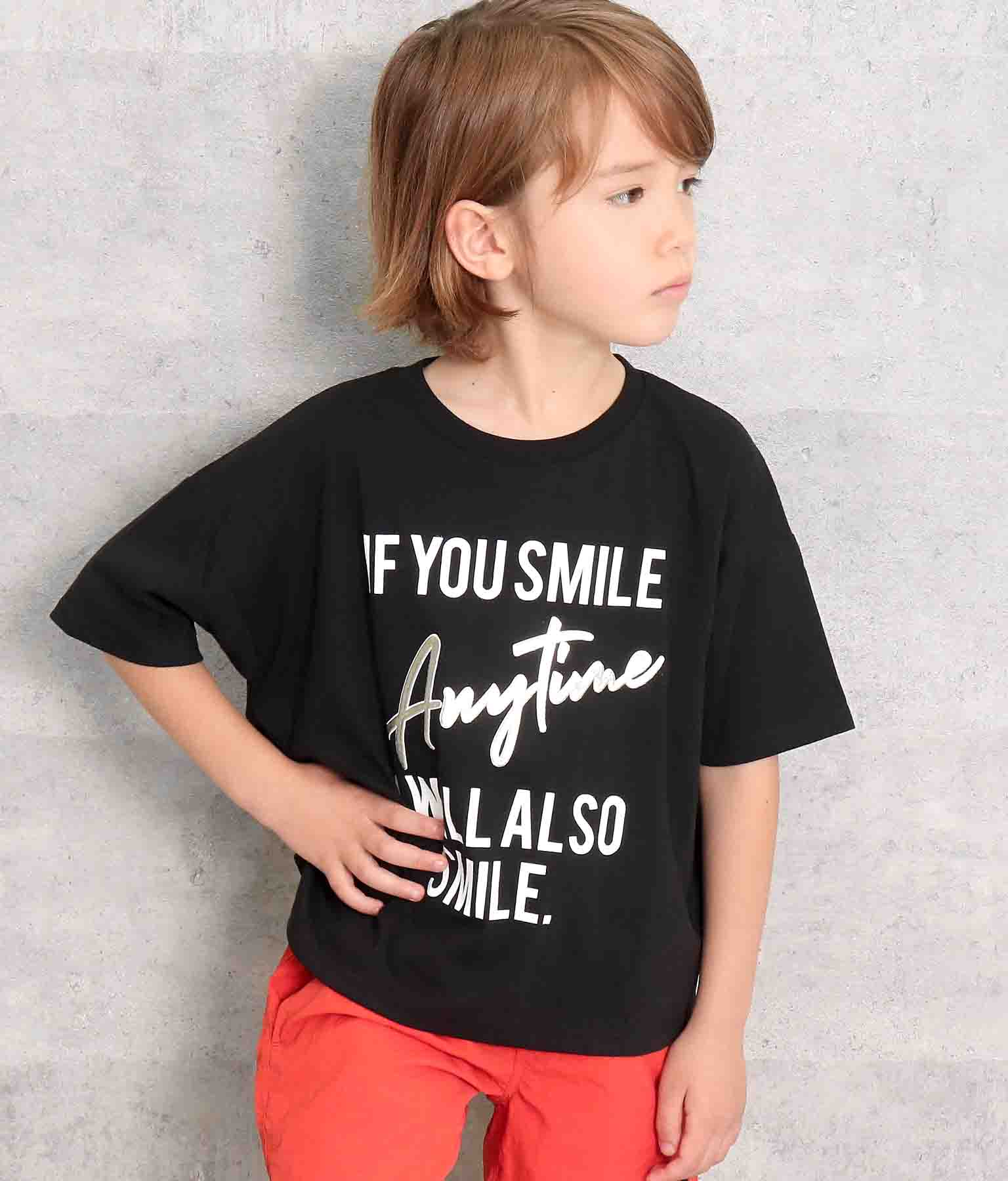 箔発泡Tシャツ(トップス/Tシャツ)   ANAP KIDS