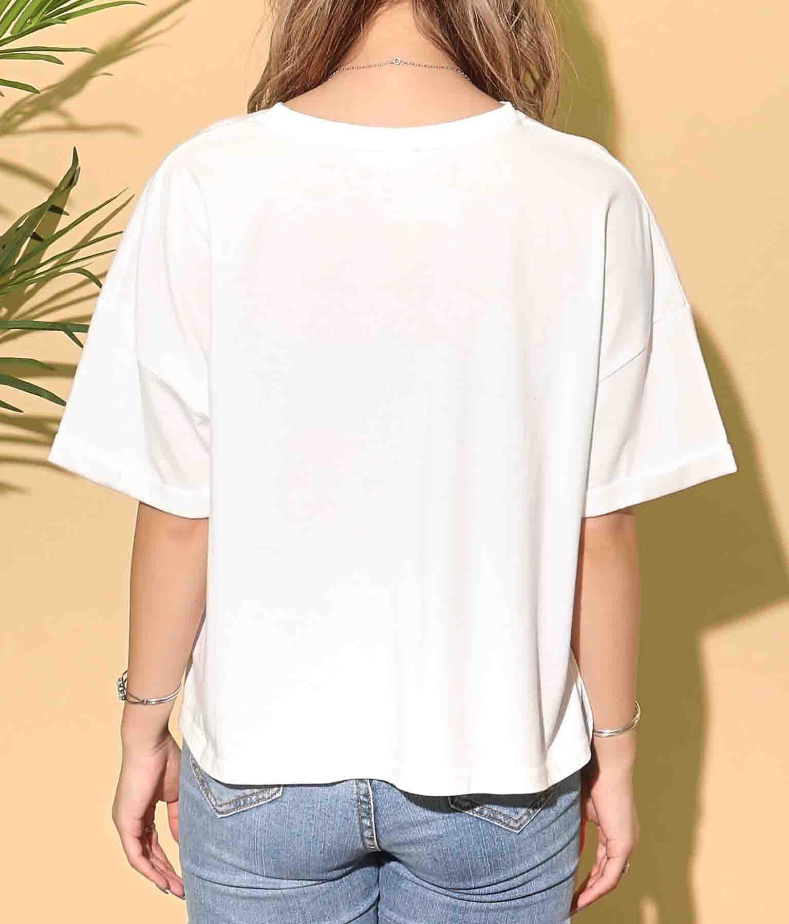 ペイズリーボックスロゴTシャツ | anap mimpi
