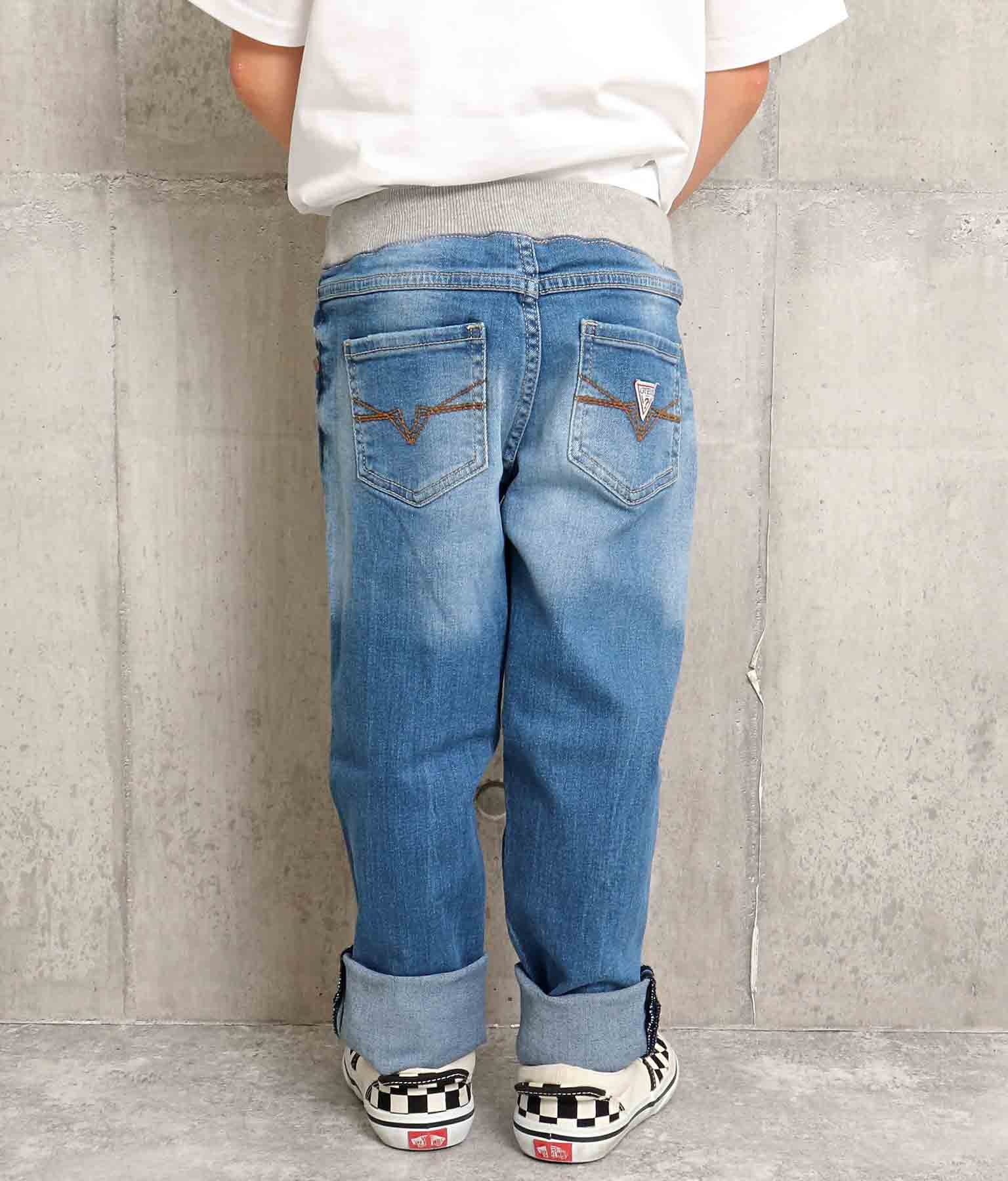 PULL ON DENIM SLIM PANTS(ボトムス・パンツ /ロングパンツ) | GUESS