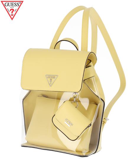 RUBINA BACKPACK(バッグ・鞄・小物/クリアバッグ・バックパック・リュック) | GUESS