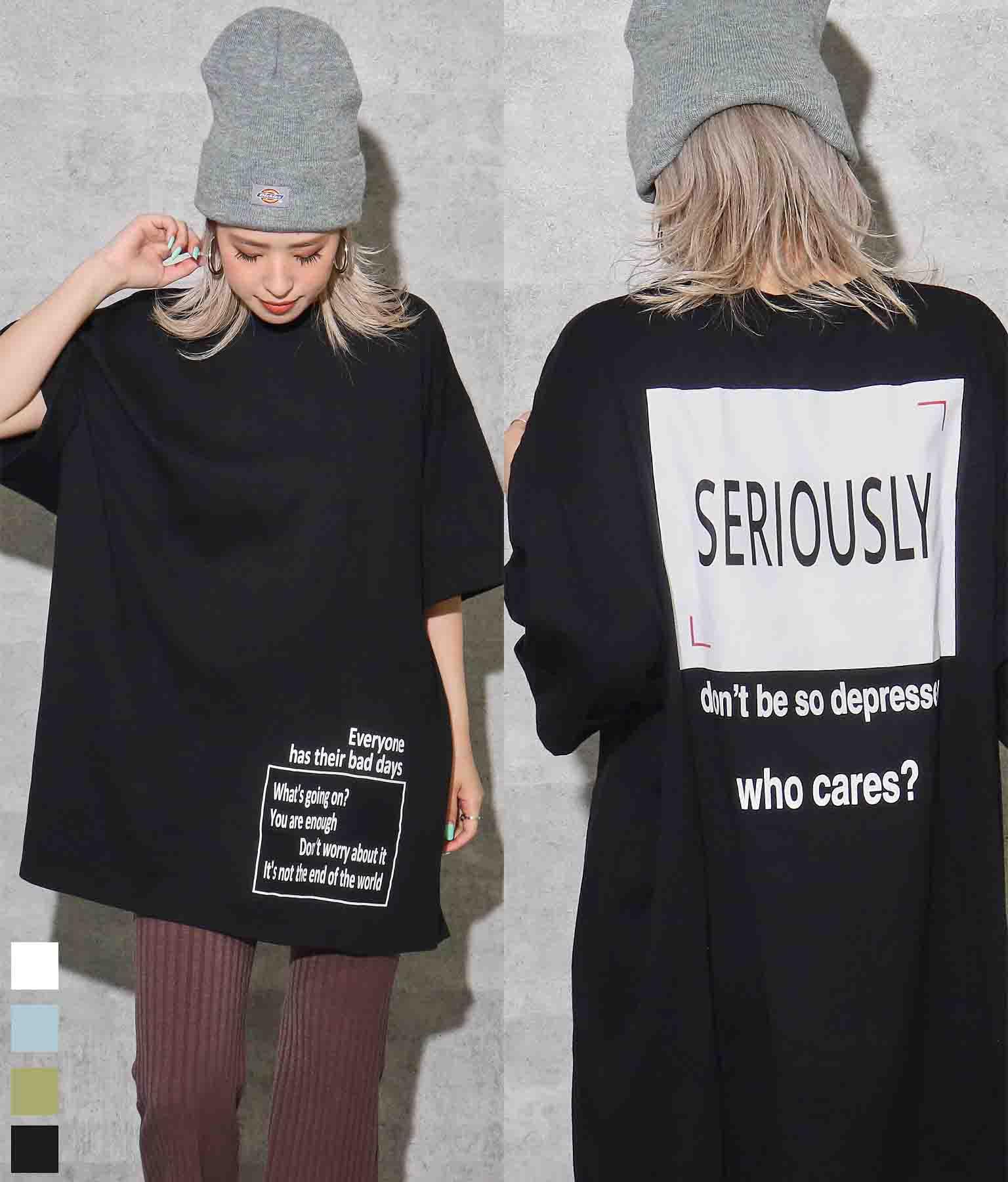 ロールアップビッグTシャツ