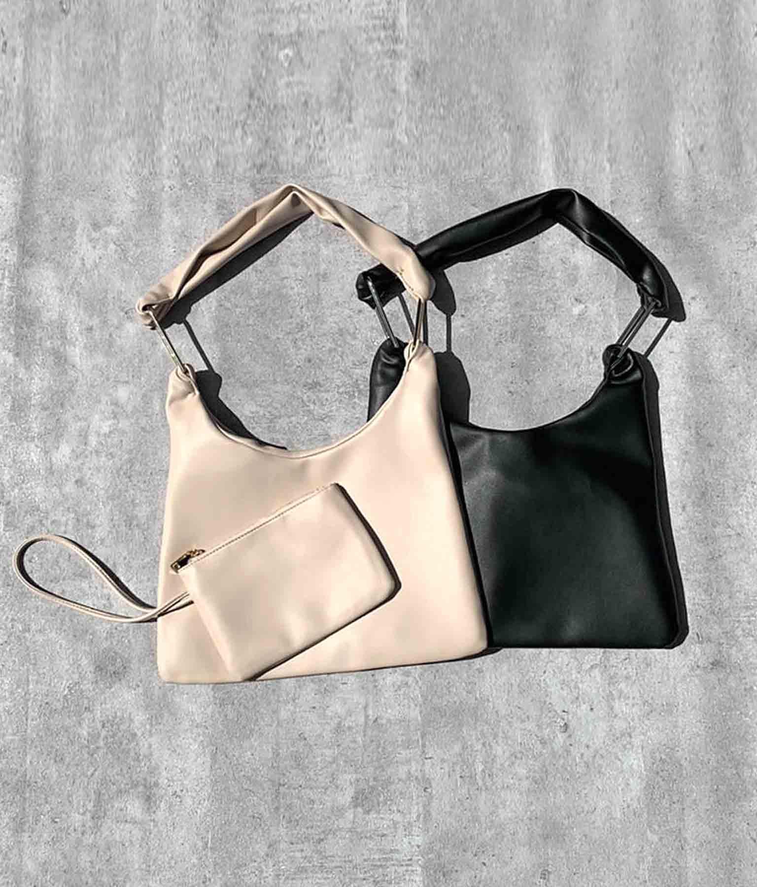 ポーチ付きスクエアパーツバッグ(バッグ・鞄・小物/ハンドバッグ・ショルダーバッグ) | ANAP