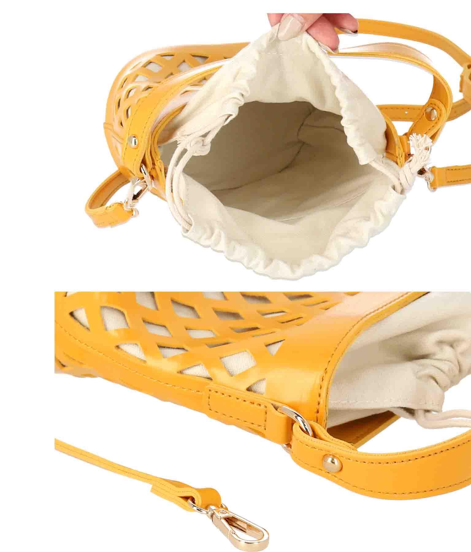 フェイクレザーカットワークミニバック(バッグ・鞄・小物/ショルダーバッグ) | ANAP