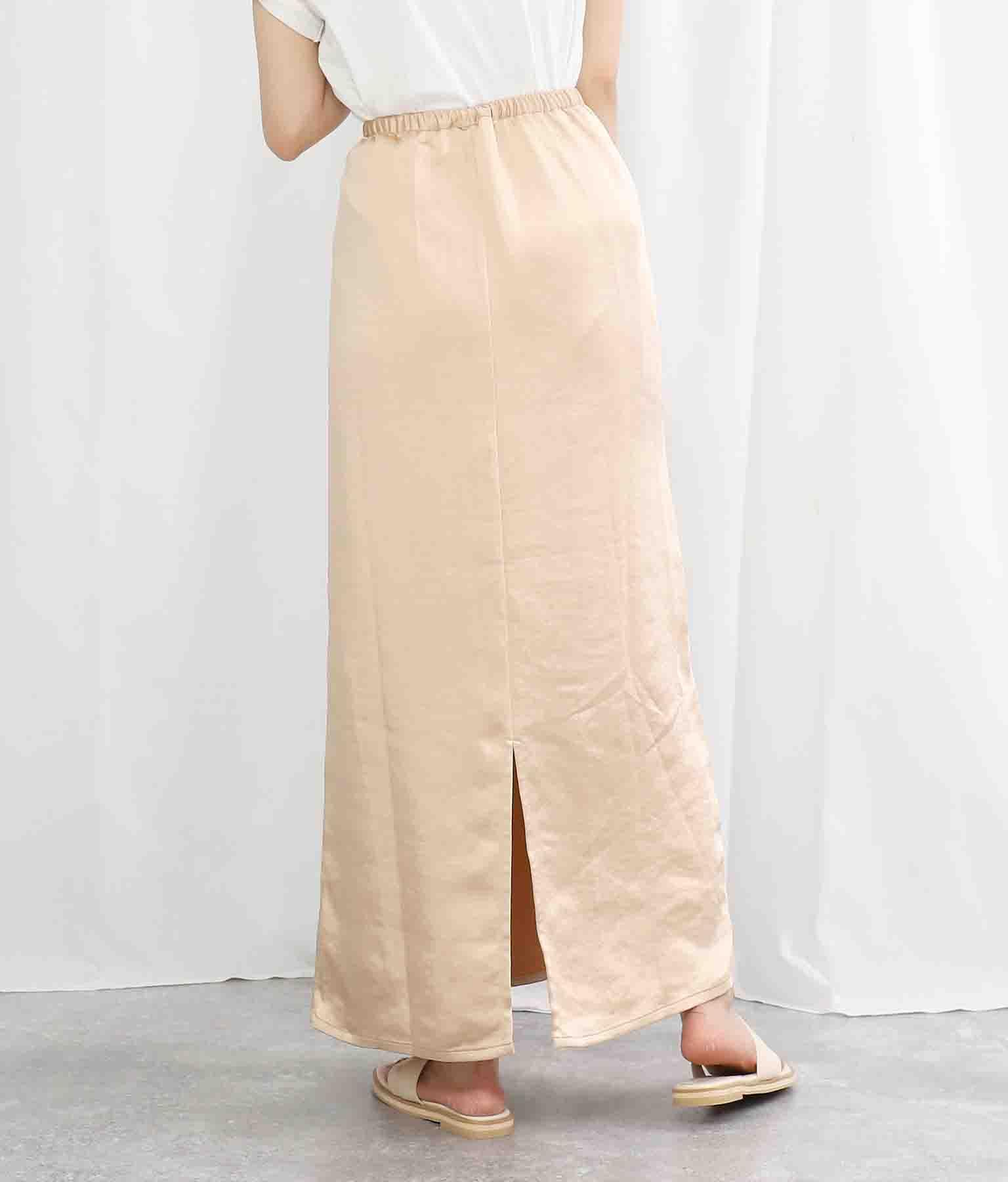 ヴィンテージサテンIラインマキシ丈スカート(ボトムス・パンツ /スカート) | Settimissimo