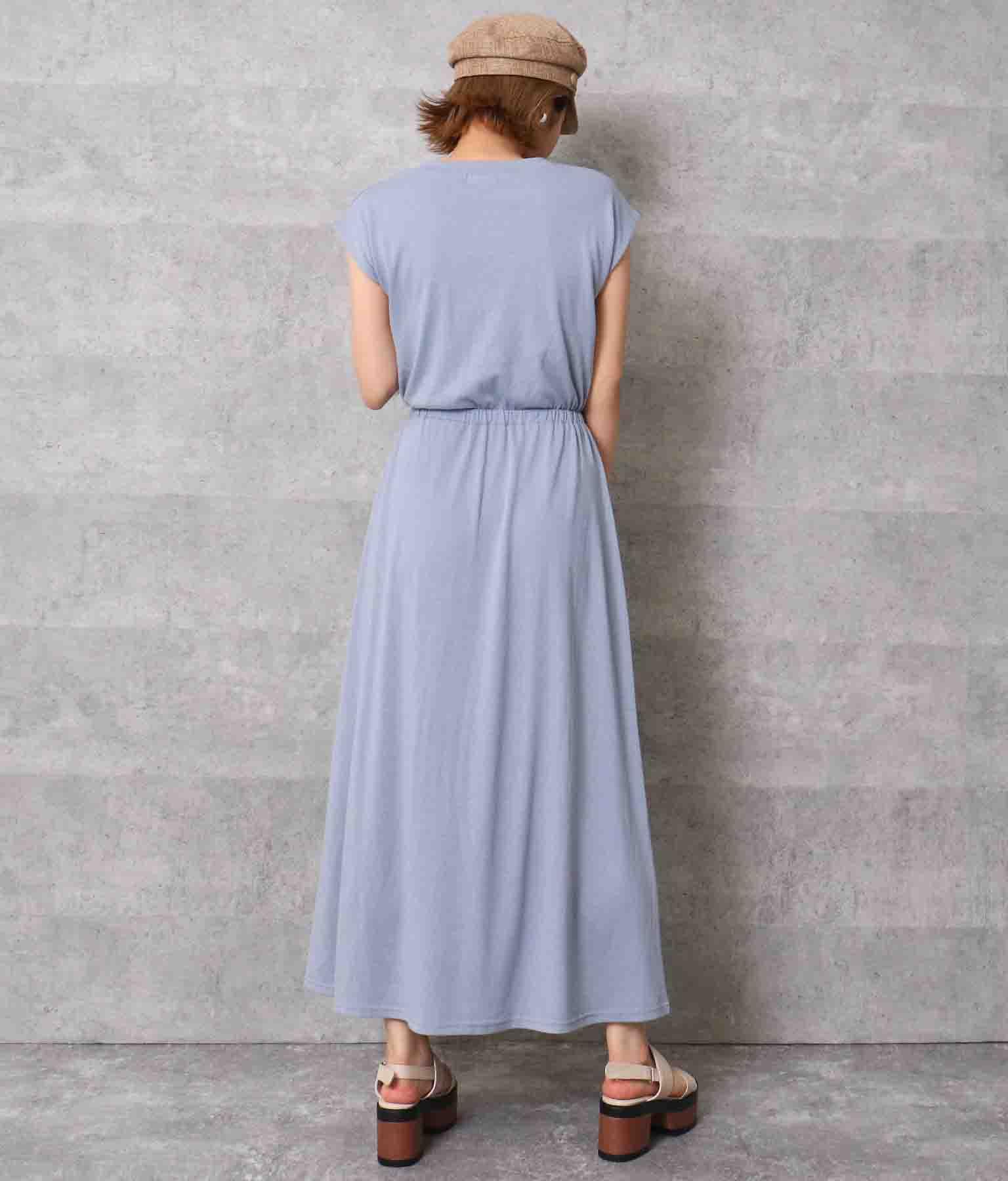 フレンチスリーブロングワンピース(ワンピース・ドレス/ロングワンピ) | ANAP