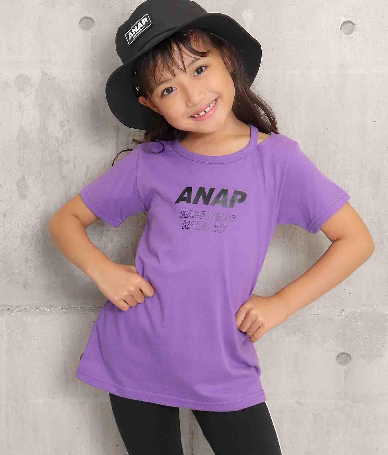 ネックカットチュニック(トップス/Tシャツ・チュニック) | ANAP KIDS