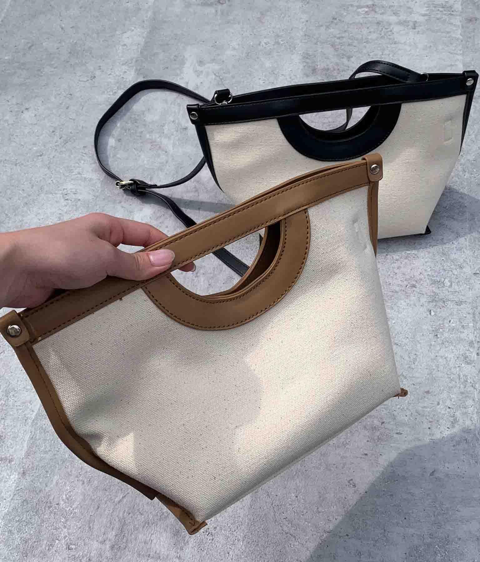 2WAYパイピングキャンバスバッグ(バッグ・鞄・小物/ショルダーバッグ) | ANAP