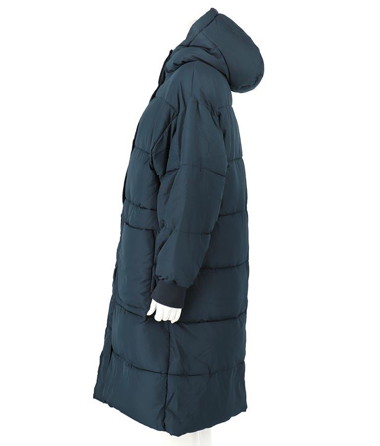 フードボリュームロングコート(アウター(コート・ジャケット) /コート (トレンチコート・ロングコート) ) | anap mimpi