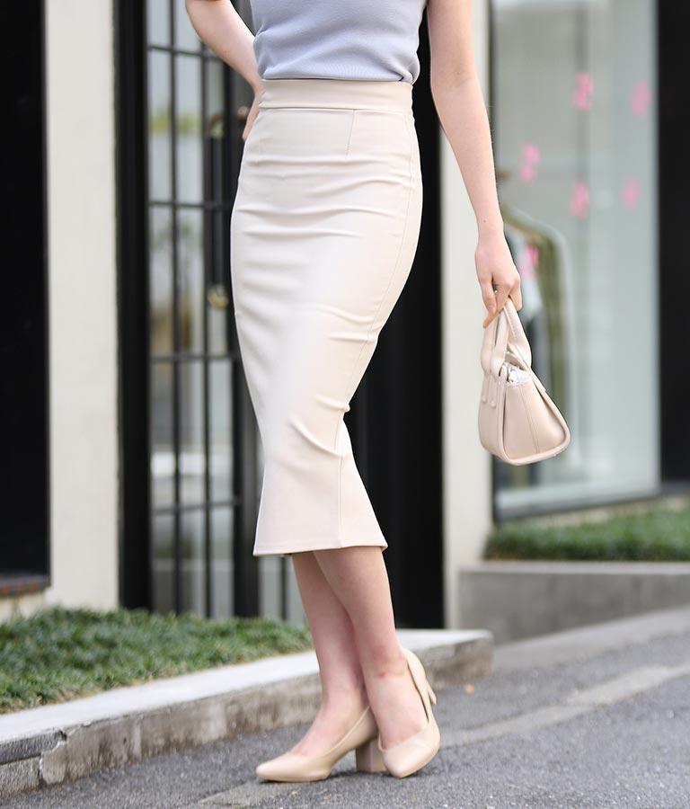 anap バックスリットシンプルタイトスカート