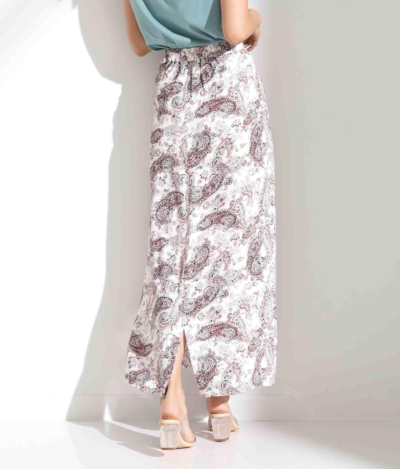Iラインペイズリースカート(ボトムス・パンツ /スカート)   Alluge