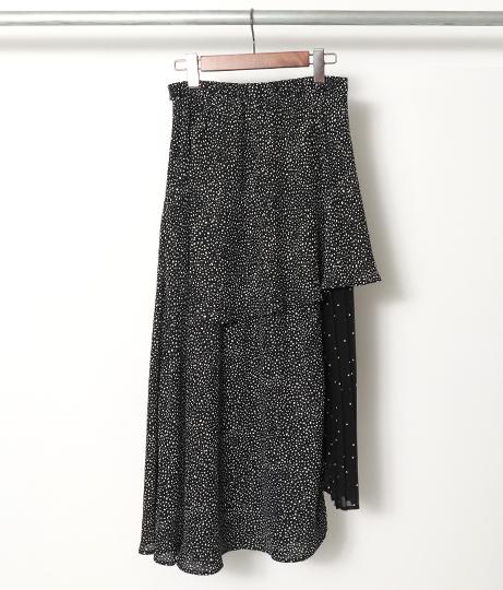 ドットプリーツスカート(ボトムス・パンツ /スカート) | AULI