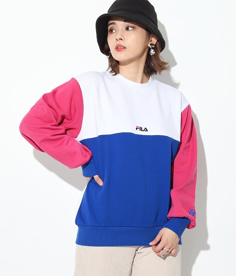 切替トレーナー(トップス/スウェット・トレーナー)   FILA