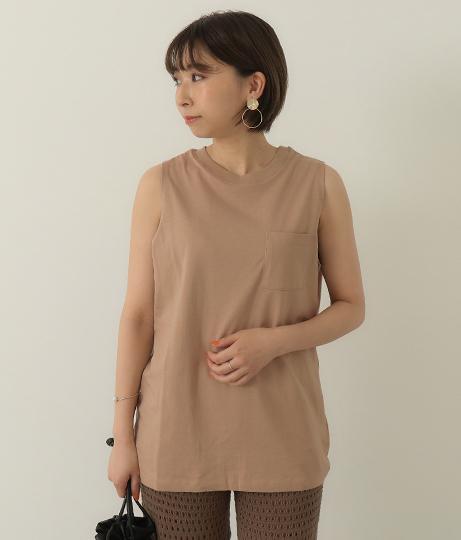胸ポケノースリTシャツ