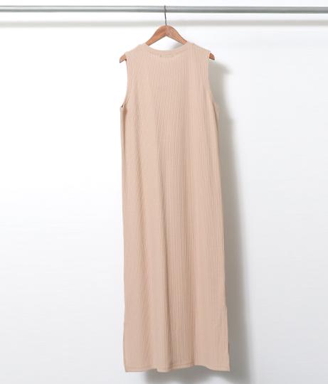 ワッフルノースリワンピース(ワンピース・ドレス/ロングワンピ) | Factor=