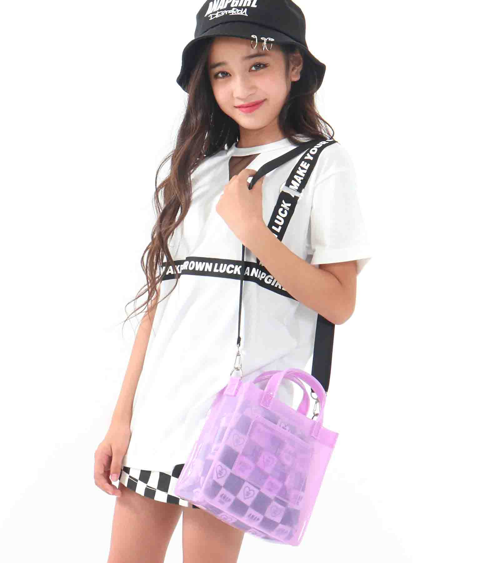 2パターンクリアミニバッグ(バッグ・鞄・小物/ショルダーバッグ) | ANAP GiRL