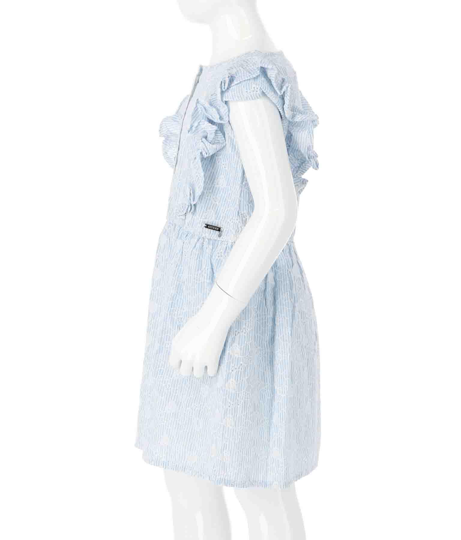 YD SANGALLO MUSLIN SS DRESS(ワンピース・ドレス/ミディアムワンピ・ミニワンピ)   GUESS
