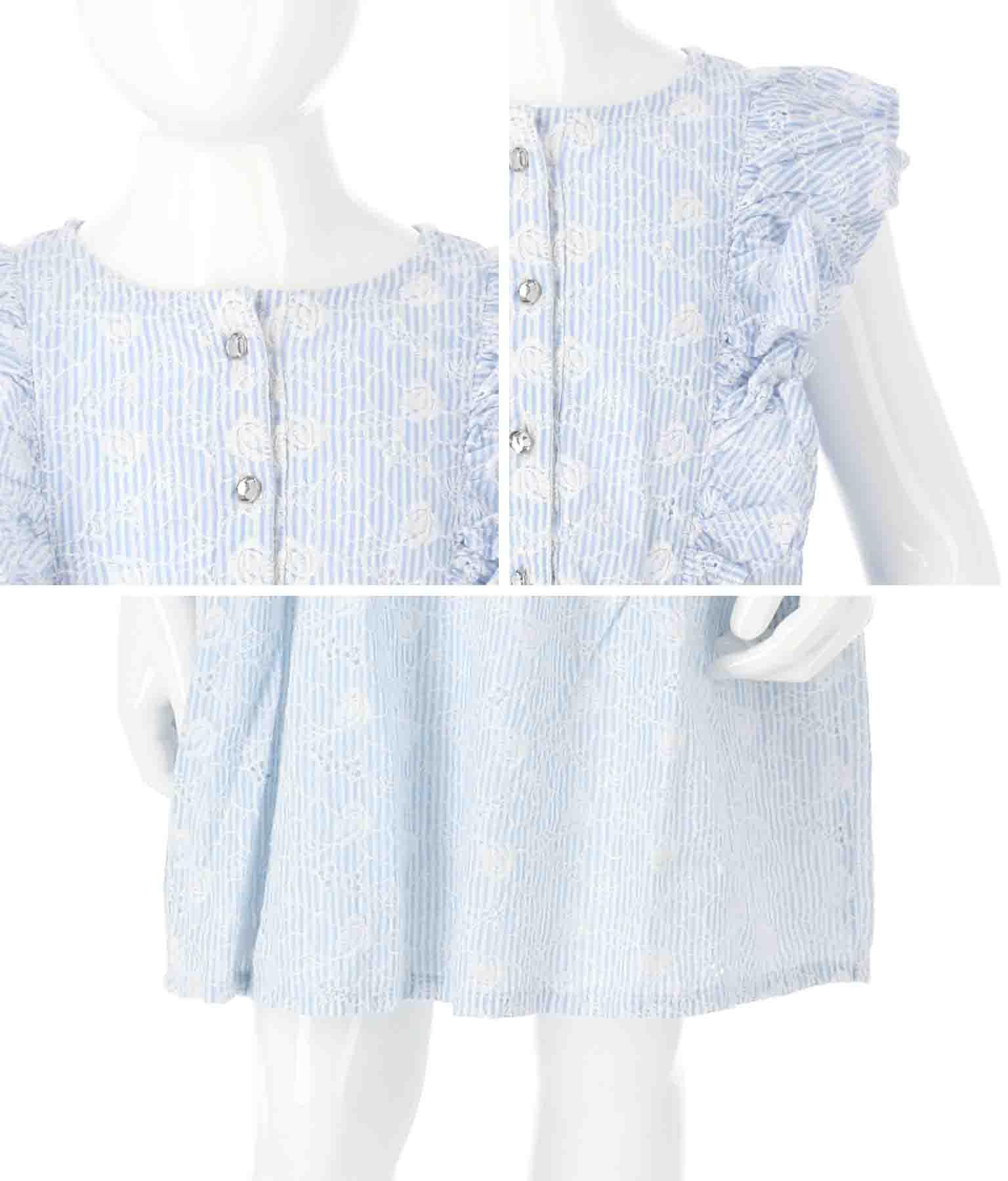 YD SANGALLO MUSLIN SS DRESS(ワンピース・ドレス/ミディアムワンピ・ミニワンピ) | GUESS