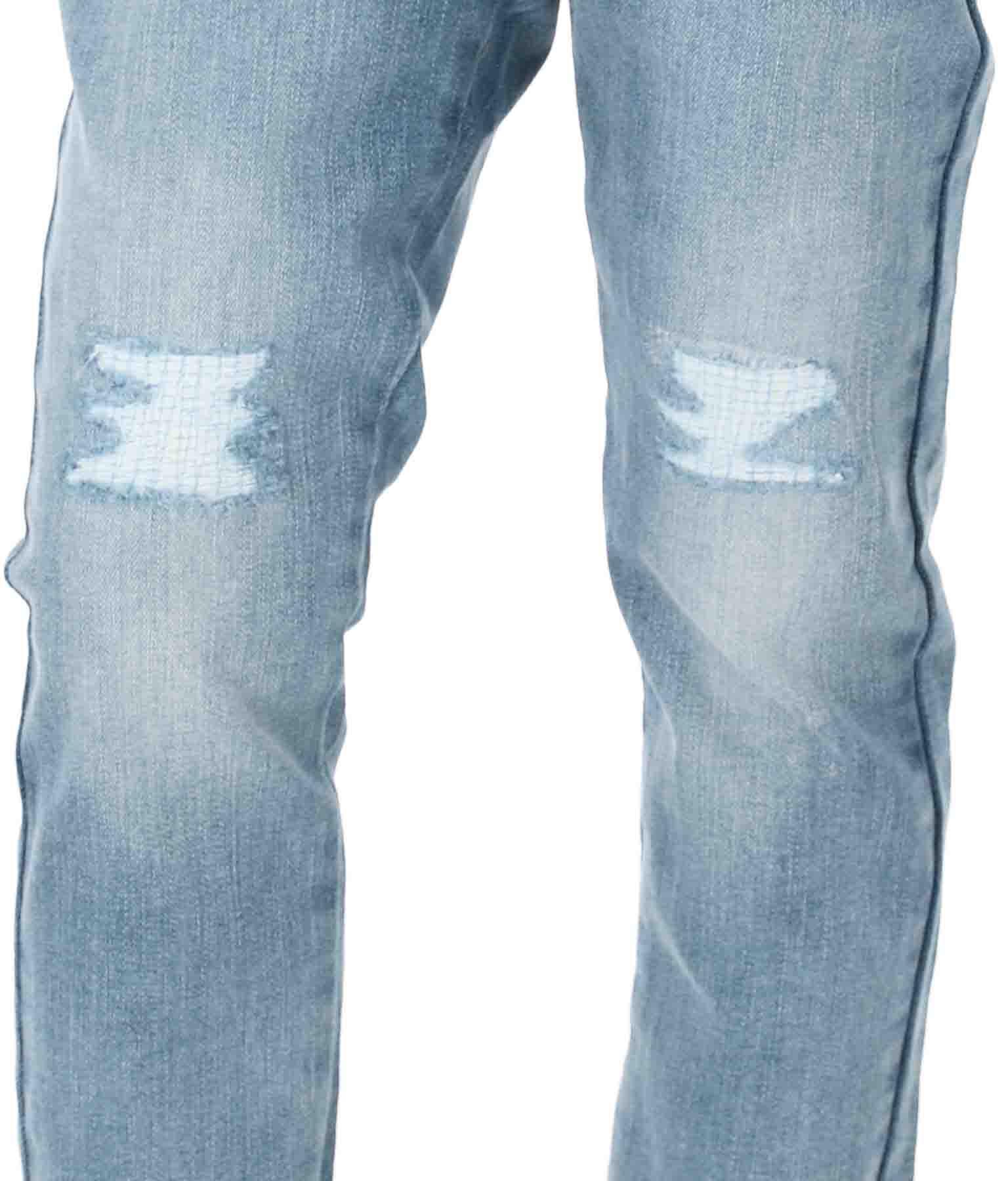 DENIM SKINNY PANTS(ボトムス・パンツ /クラッシュジーンズ・ロングパンツ)   GUESS